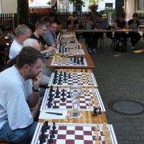 Schach im Biergarten 2014