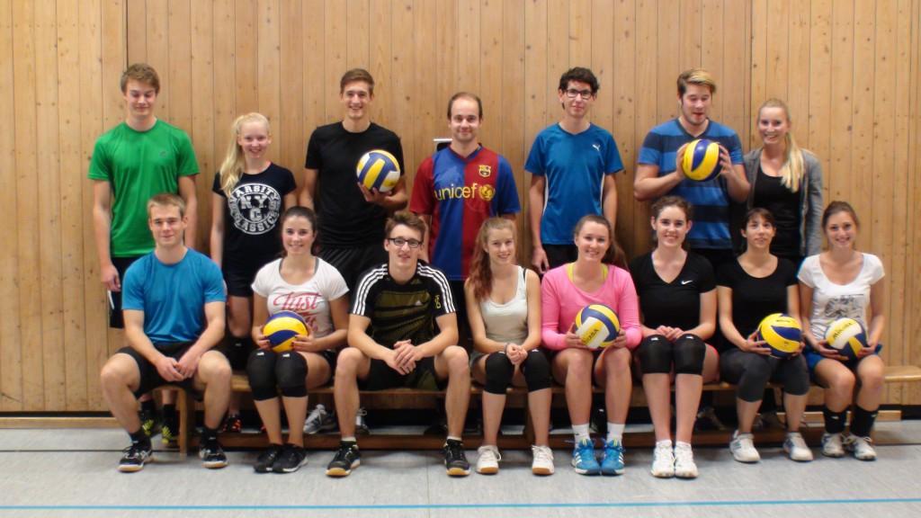 Gemischte Volleyballjugend